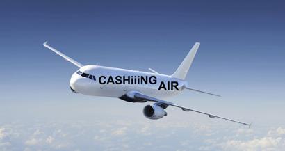 Då återstår det bara att ta hem slutlig vinst, tack för att ni flög med tasajtens flybolag KASCHiiiNG AIR