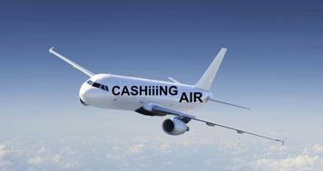 tasajtens flygbolag CASHiiiNG AIR rullar ut wienerbrödsvagnen igen