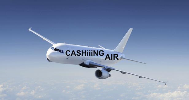 CASHiiiNG AIR 707 på väg mot Gran Canaria, beräknas landa 640
