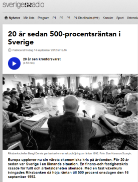 Källa: Sveriges radio
