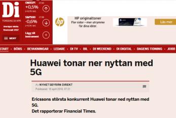 Varför skulle Huawei baissa sin egen top-of-the-line-produkt? (bild källa: di)