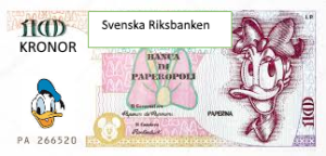 Sveriges nya valuta: Kalle Anka Kronor (KAK)