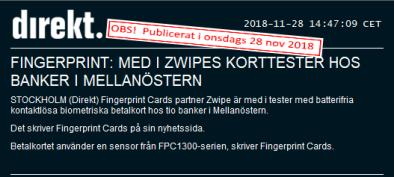 Nyhetsflash (källa: Nyhetsbyrån Direkt, Sveriges främsta nyhetsbyrå inom Finans)