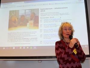 Vår ordföranden Monica Movell berättar här om vår hemsida.