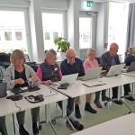 Tematräff med engagerade kursdeltagare
