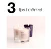 3)  doftljus