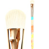 8) Jacks Beauty Line Brushes - 6 STOR SKUGGBORSTE