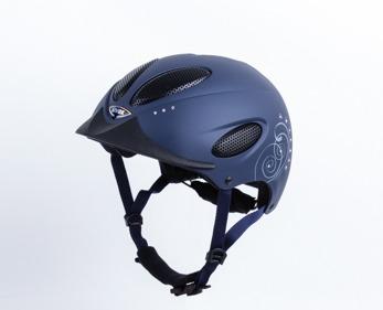 Uvex Perfexxion Glamour blue mat. - Matt blå Stl 55-56