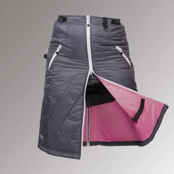 Uhip Arctic Sport - Kjol, Grey Stl 38