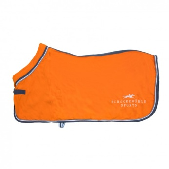 Schockemöhle Premium Fleece - Orange, stl 145 cm