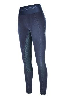 Pikeur Ivana Grip Jeans Athleisure - Blå, stl 34