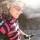Sigrid Tuvall i rosa-svart