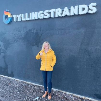 Pernilla Jennervall, delägare på Tyllingstrands
