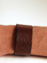 Brett läderarmband A long the road - 22,5 cm