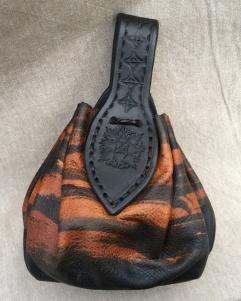Tibetan Tiger - läderpung/leatherpouch