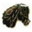 Pins - Pins svart huvud