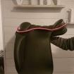 Heba bomlös sadel från Töltrider - Heba 18 tum Rosa