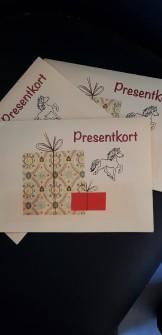 PRESENTKORT - 100