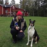 Mira & Anette med pokalen