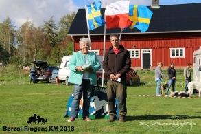 Även ringsekreterare Annica Tjärnberg blev tackad