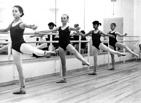 Kungliga Svenska Balettskolan 1974.