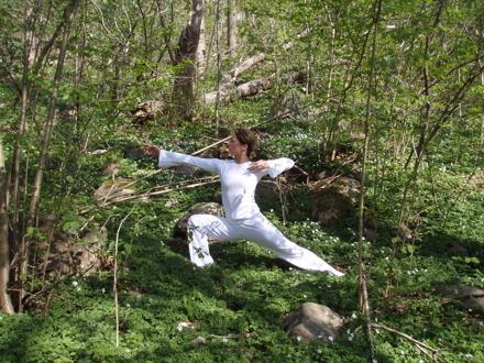 Yoga kläder.