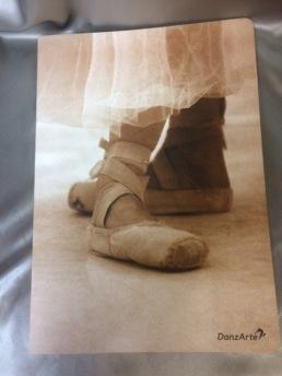 Block med balettmotiv