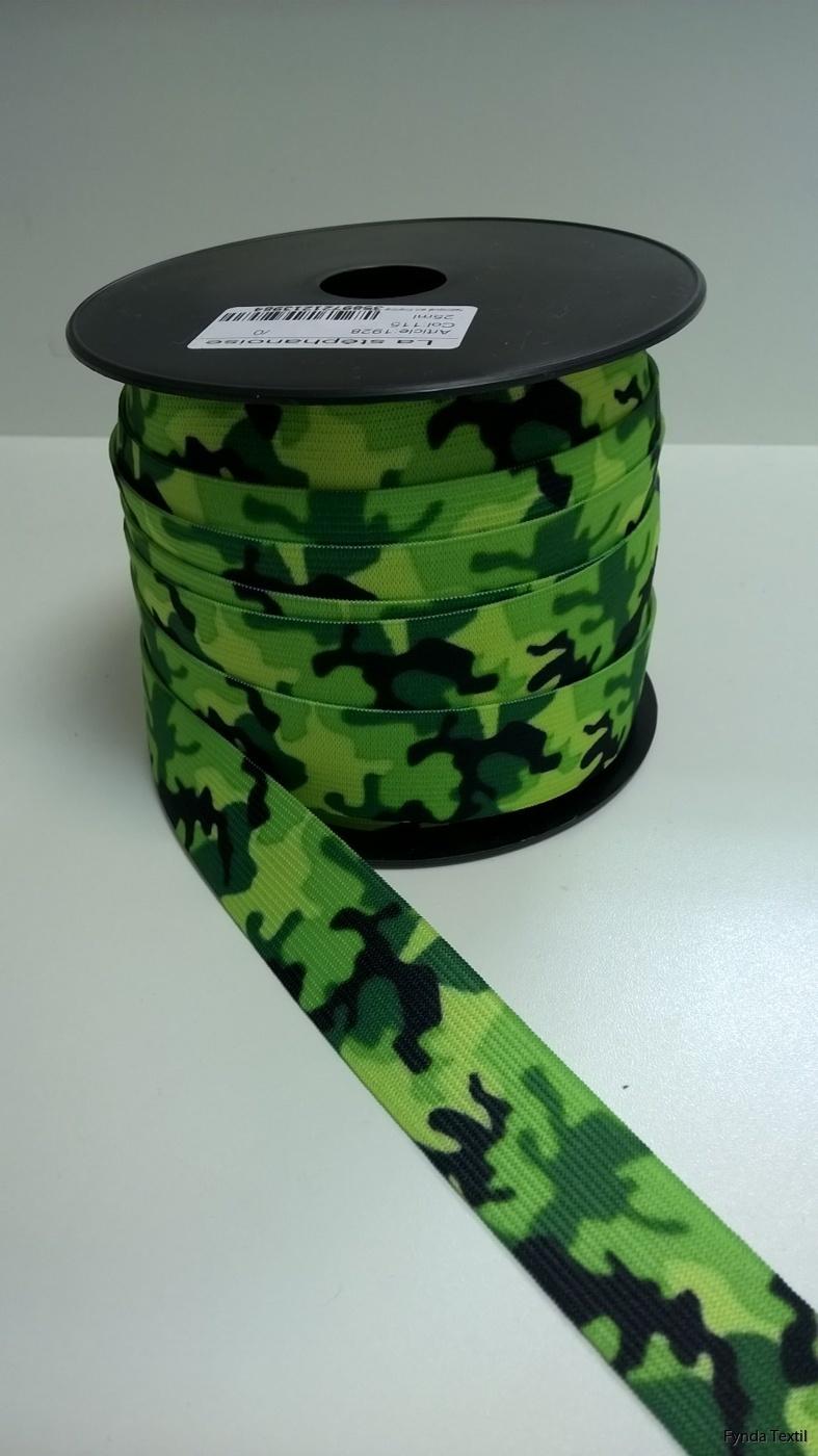 Limegrön-svart