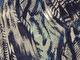 Mode stickad -  Fjädrar marinblå