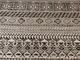 Stickat modetyg - Aztecmönster vintervit