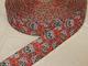 Dekorband 25 mm - Sugarskulls Välj färg - Röd