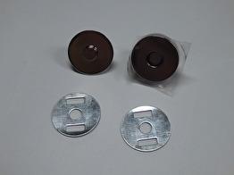 Magnetlås för väskor mm - 18 mm