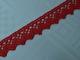 Rött spetsband 15 mm