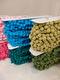 Bollfrans i 14 färger - Olivgrön