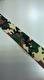 Kamoflagemönstrad resår 28 mm (6 färger) - Grön-brun