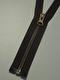 Delbar dragkedja i metall 60 cm 12 färger - Skogsgrön