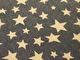 Nano softshell - Jeansblå med naturvita stjärnor Ökotex