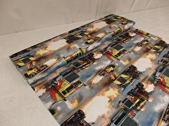 Digital trikå - Fire trucks