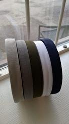 Väskband 25 mm (Polypropylen) 5 färger