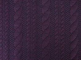 Modetyg för koftor - Jaquard trikå - Välj färg Ökotex - Burgundy