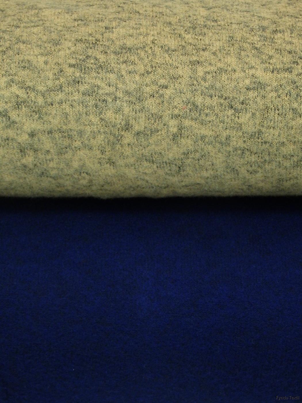 Senap och marinblå