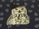 Trikå - Owl in a hat dovblå Ökotex