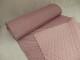 Morten rosa - Kviltad jacktyg med pälsbaksida 5x4 cm
