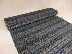 Trikå - Aztec stripes mullvadsgrå Ökotex