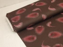 Viskostrikå - Swirls chokladbrun Ökotex