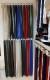 Delbar dragkedja i metall 80 cm 12 färger
