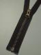 Delbar dragkedja i metall 80 cm 12 färger - Skogsgrön