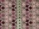 Bomullstrikå - Mintgröna blommor på rosa-lila botten Ökotex