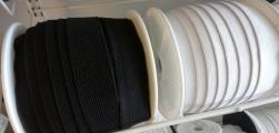 Mjuk resår 30 mm - Svart eller vit
