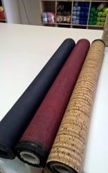Korktyg i tre färger